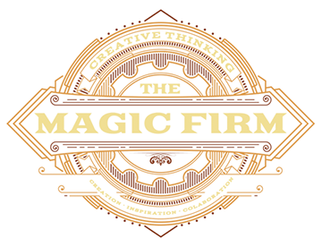 THE MAGIC FIRM logo