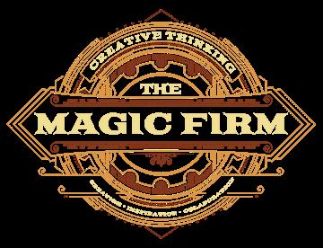 THE MAGIC FIRM logo